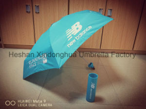 Fashion Five Fold Give Bottle Umbrellas for New Balance (FU-5619BU) pictures & photos