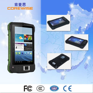 Sunlight Visiable Outdoor Android Industrial 4G Lte Tablet PC Support Fingerprint Reader pictures & photos
