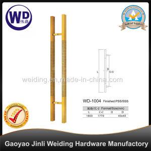Stainlesss Steel Glass Door Handle / Shower Handle Wd-1004 pictures & photos