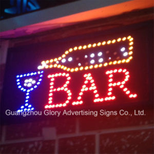 Bar Open Flashingboards LED Bar Sign pictures & photos