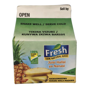 250ml Fresh Juice Carton pictures & photos