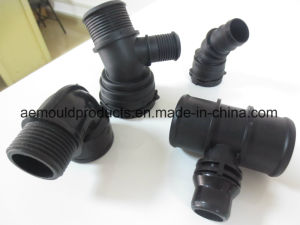 Plastic Injection Mould for Industrial Component Threaded Pipe Connector pictures & photos