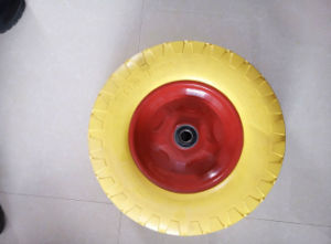 PU Foam Wheel (4.00-8) . Solid Wheel pictures & photos