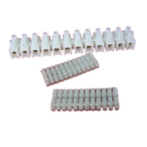 6A 6mm2 Terminal Block Plastic Terminal Blocks H/ U/ V Type PA PP PE pictures & photos