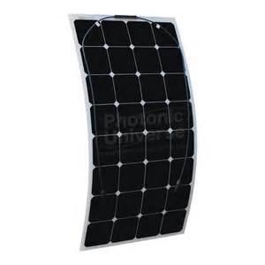 Manufacturers Warranty 100W Sunpower Mono Semi Flexible Solar Panel Module pictures & photos