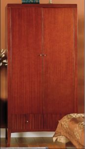 Hotel Bedroom Furniture Sets/Star Hotel Guest Room Wardrobe (GLW-015) pictures & photos