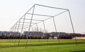 Twisted Poly Batting Cage Net and Frame pictures & photos