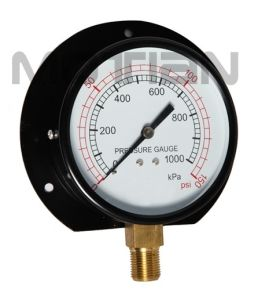 4 Inches Pressure Gauge with Flange pictures & photos