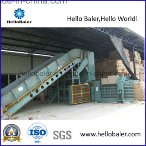 Hellobaler 10t/H Automatic Baling Machine with Conveyor (HFA8-10) pictures & photos