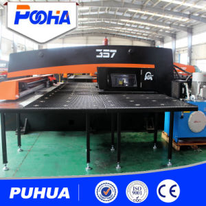 Sheet Metal Hydraulic CNC Turret Punching Machines/Hot Inquiry/4 Aixs Auto Index Hydraulic CNC Punching Machine with Close Frame pictures & photos