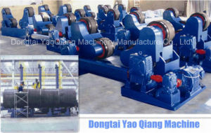 Rotary Bed Support for Round Workpiece Shot Blasting pictures & photos