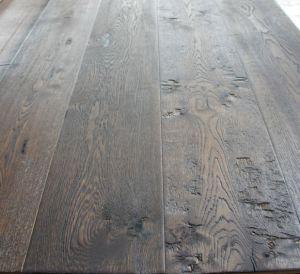 Rustic Grade Antique Wood Parquet Flooring/ Oak Parquet Floor pictures & photos