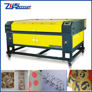 CNC Laser Engraving and Cutting Machine with Rotary Laser Machine pictures & photos