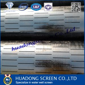 Stainless Steel 304 Slotted Screen for Oil Well Drilling pictures & photos