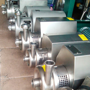 5000liters Stainless Steel Hygienic Juice Centrifugal Pump pictures & photos
