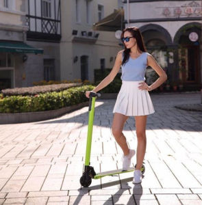 2 Wheels New Product Adjustable Electrical Mobility Scooter pictures & photos