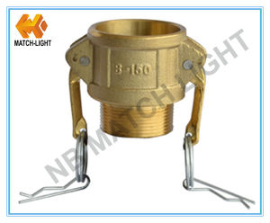 Sand Casting Type B150 Brass Camlock Coupling pictures & photos