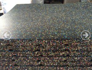 EPDM Gym Rubber Flooring, No Odor Rubber Flooring Tile pictures & photos