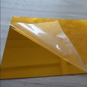 Mirror Acrylic Sheet Flexible Gold Yellow Mirror Plexiglass pictures & photos