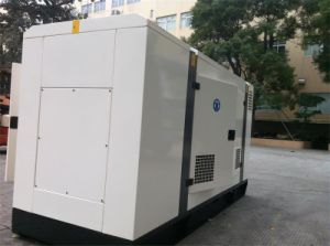 Shanghai Diesel Engine Industrial Generator Set with Silent Proof Box pictures & photos