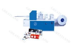 Mini Hanky Folder Printed Embossed Handkerchief Machine pictures & photos