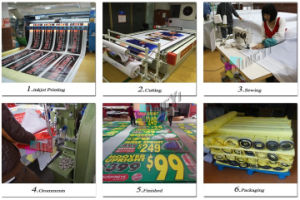 High Quality Street Guardrail Weather Resistant Advertising Display PVC Vinyl Banner pictures & photos