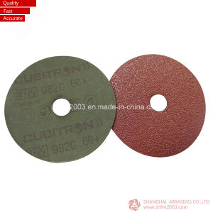 Aluminum Oxide Abrasive Fiber Discs for Grinding pictures & photos