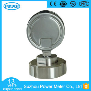 2.5 Inch 63mm 316L Diaphragm Pressure Gauge Dn 25 pictures & photos