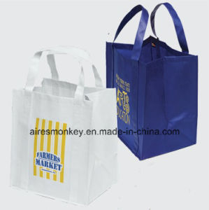 Eco-Friendly Non Woven Tote Bag Handles Sewing to The Bottom pictures & photos