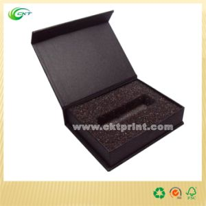 Custom Black Gift Box with Insert (CKT- CB-409) pictures & photos