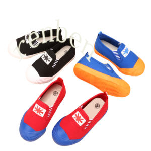 New Sale Popular Children′s Canvas Shoes pictures & photos