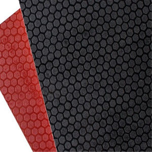 Black/Red Anti-Fslip Film Covered Plywood / Shuttering Plywood pictures & photos
