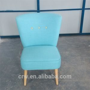 Rch-4233 2014 New Design Bright Color Single Sofa Chair with Three Buttons pictures & photos