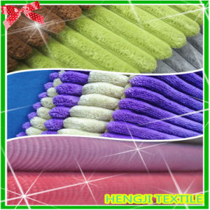 Elastic Corduroy Polyester Cotton Fabric for Textile (710-026)