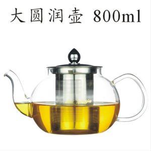 High Borosilicate Glass Tea Pot (800ml) pictures & photos