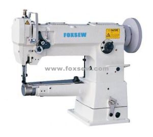 Cylinder Bed Unison Feed Sewing Machine for Handbags pictures & photos