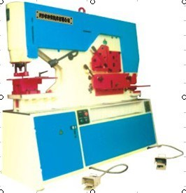 Q35y-20 Hydraulic Combined Punching & Shearing Machine with Notch pictures & photos