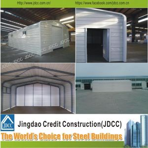 High-Quality Steel Structure Prefabricated Garage pictures & photos