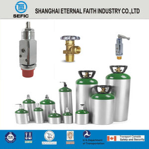 Medical Aluminum Alloy Oxygen Gas Cylinder pictures & photos