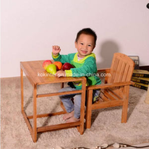 Multifunctional Dining Chair for Kids Bamboo Baby Chair pictures & photos