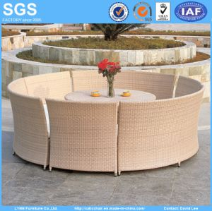 Outdoor Dining Set Round Rattan Table and Chairs pictures & photos
