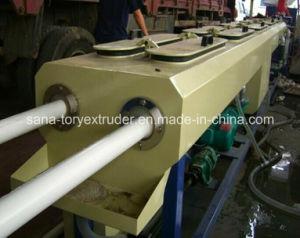 16-63mm PVC Plastic Double Pipe Extrusion Production Machine Line pictures & photos