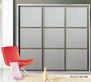 PU Series Sliding Door for European Closet (PY-A17-CBO-008) pictures & photos