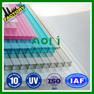 Grey Plastic Frames with Clear Polycarbonate Sheets Freesky Entrance Door Canopy pictures & photos