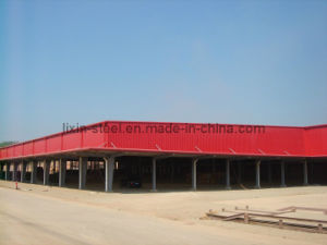 Steel Frame Workshop Color Galvanized Steel Sheet Roofing pictures & photos