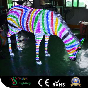 New Year Decoration Lights LED 3D Zebra pictures & photos