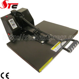 CE Flat Simple Heat Press Machine T-Shirt Heat Presses Heat Transfer Machine pictures & photos