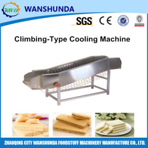 Climbing-Type Cooling Machine for Wafer in Production Line