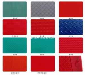 3G Antifatigue Mat Leaf PVC Flooring Plastic Floor Mat (3G-LEAF) pictures & photos