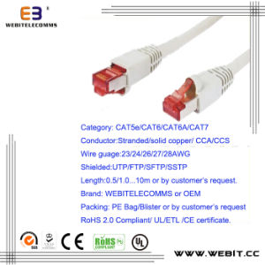Cat5e Patch Cord/Patch Cable pictures & photos